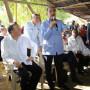 Presidente Danilo Medina y presidente  Juan Carlos Varela