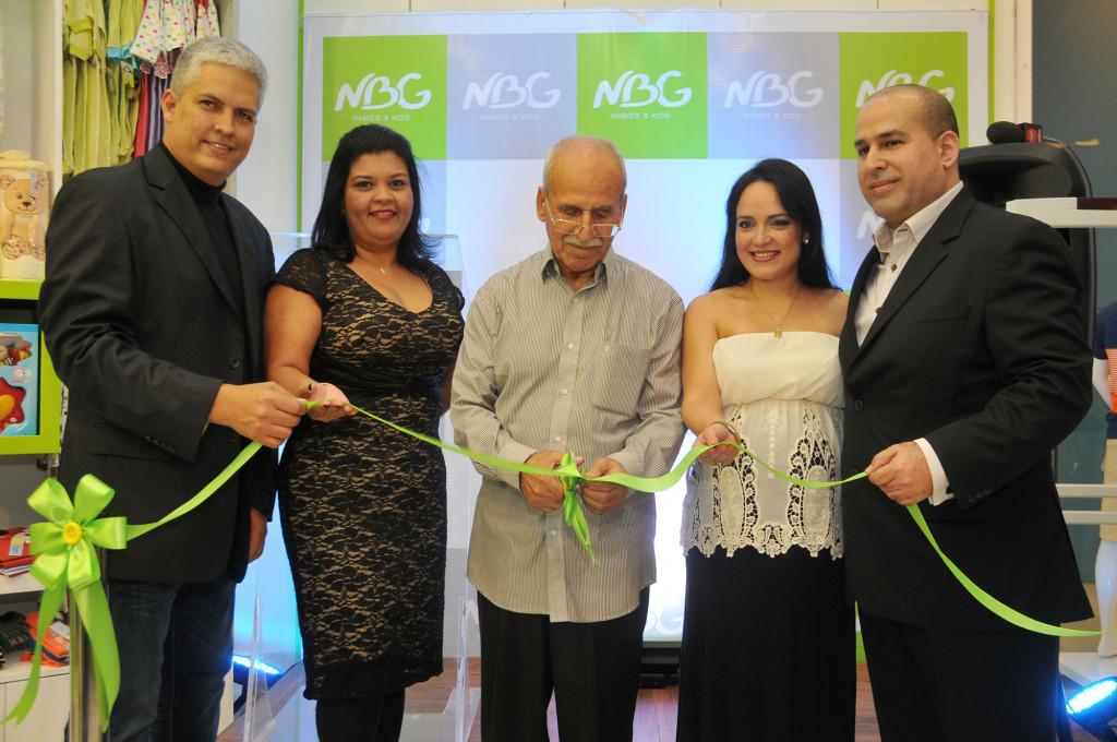 Principal.- Elpidio Baute, Yenny Rios, Zaki el Agra, Shelly el Souki, y Samir El Agra.