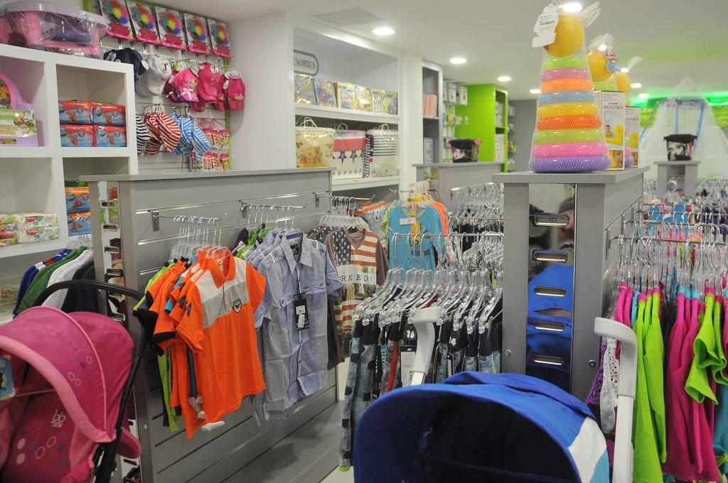Vista interior de la tienda NBG