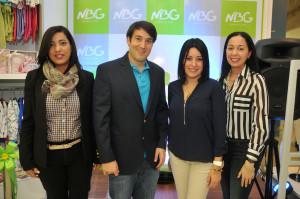 Mercedes Rodriguez, Salomon Cohen, Maria Heredia, Patricia Perez
