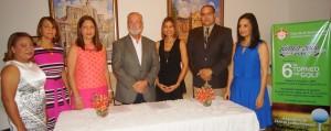 María Milagros Montas, Rafaela Reyes de Batista, Violeta Díaz de Valera, Peter Garrido, Yaniris De Peña, Tony García y Margarita Moronta de Sang.