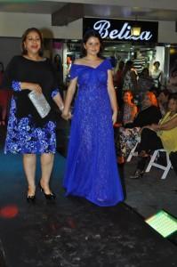 Luisa de Aquino y su hija