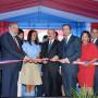 El presidente inaugura centro escolar en Valverde
