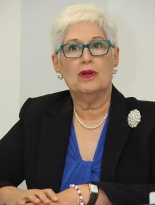 Belkis Guerrero Villalona, rectora del Instituto OMG