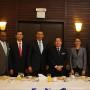 Autoridades del gobierno de Jamaica y empresarios dominicanos