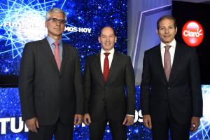 Juan Pablo Romero, Omar Acosta, Carlos Cueto