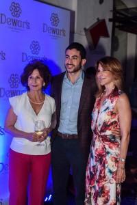 Montserrat Puigbo, Ricardo Espaillat y Montse Espaillat
