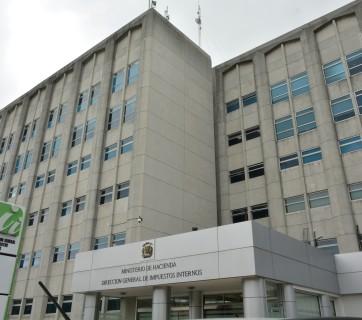 Fachada Dirección General de Impuestos Internos