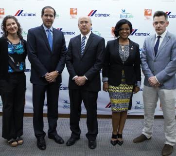 Yolanda M. León, Alejandro Ramírez, Francisco Domínguez Brito, Dania Heredia y Charlie Butt