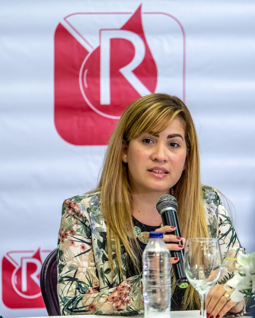 Diana Ramírez, subdirectora médica de Referencia Banco de Sangre.