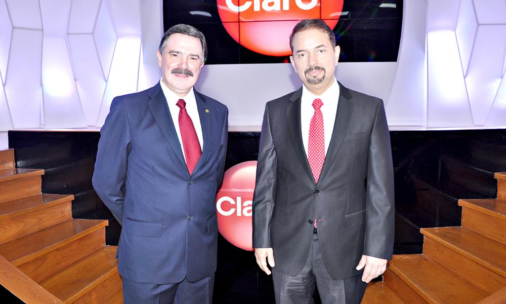 Rogelio Viesca y Oscar Peña.