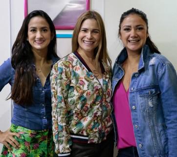 Cristal Fiallo, Shirley Perez y Larimar Fiallo