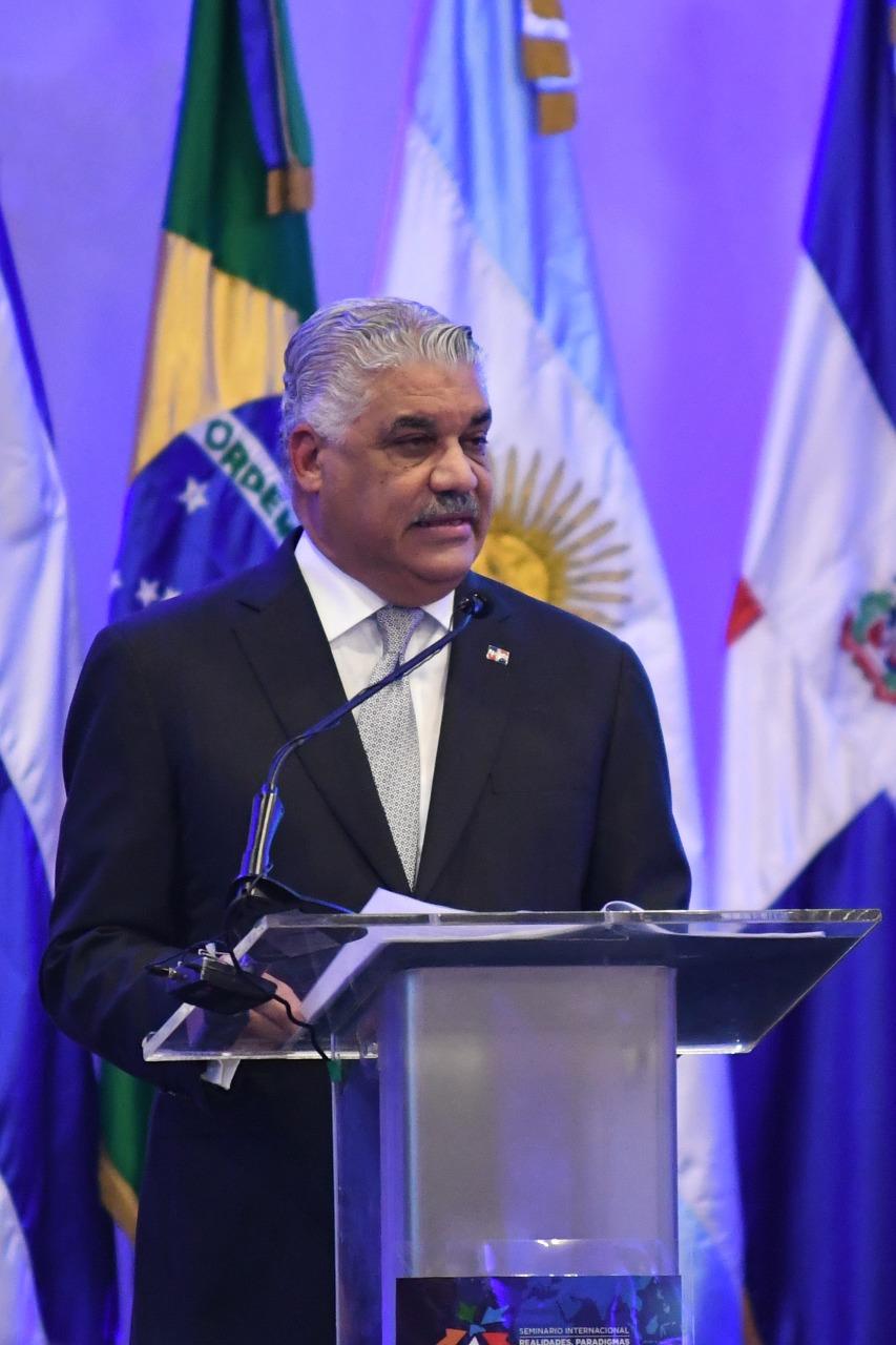 Canciller Miguel Vargas, foto de archivo