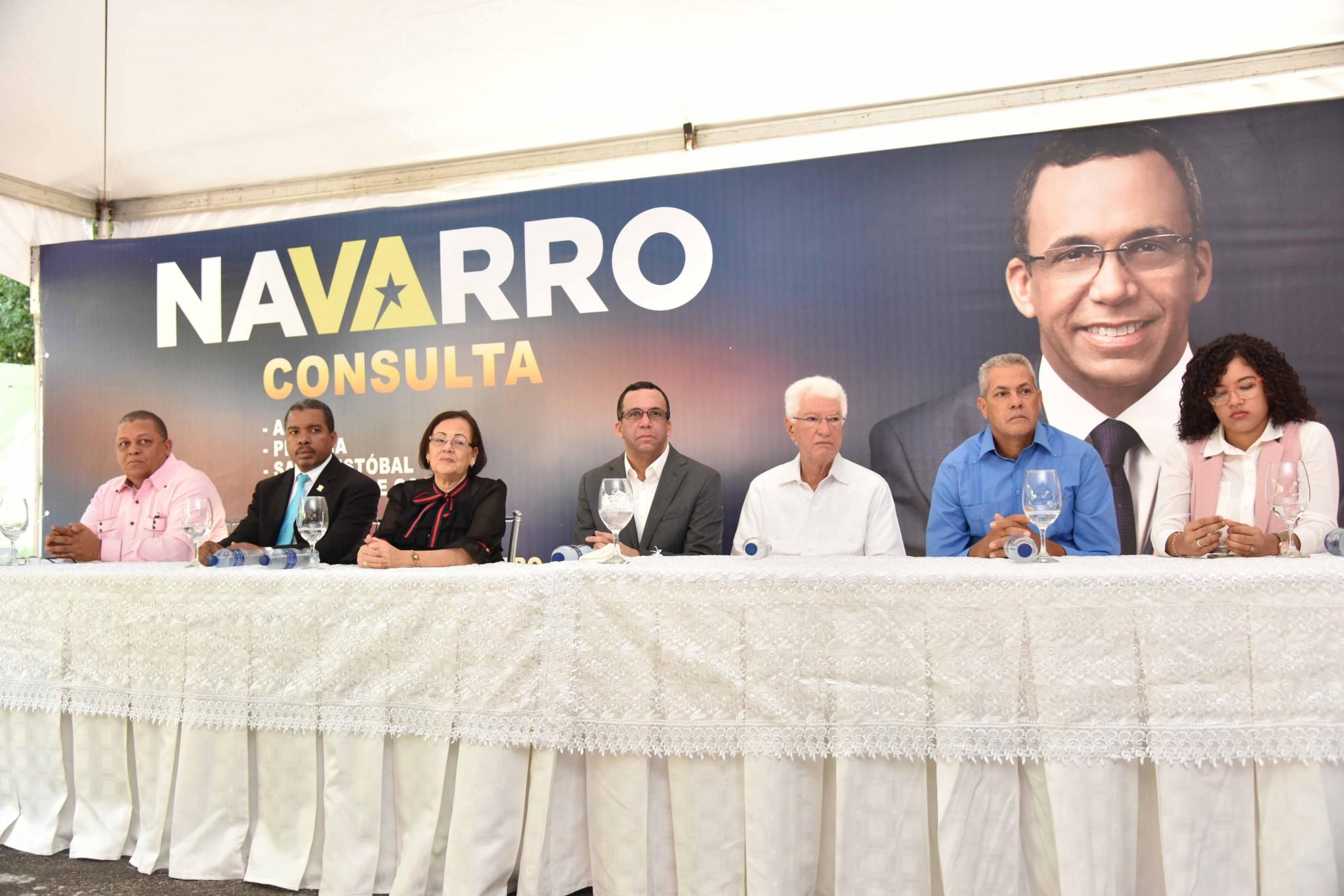 Andrés Navarro Políto acto
