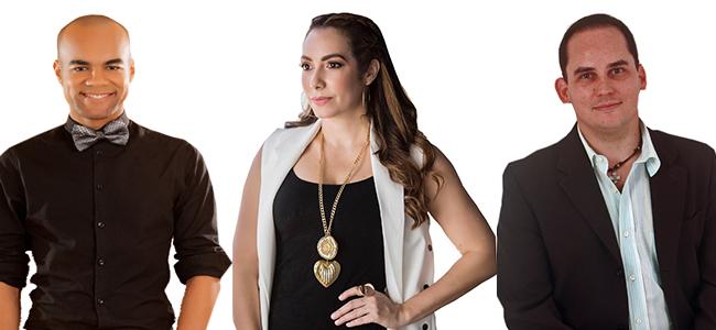 Radhamés, Miralba y Miguel
