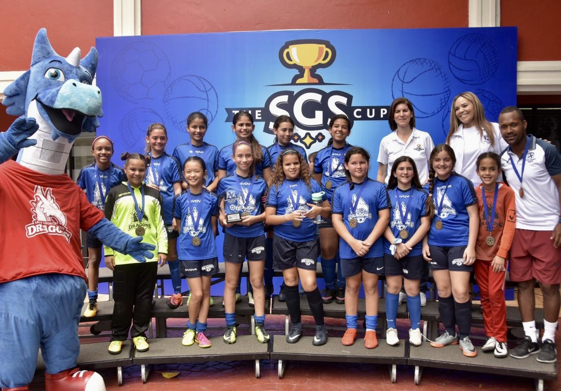 Primer lugar 5_6to Fútbol Femenino, Saint George School