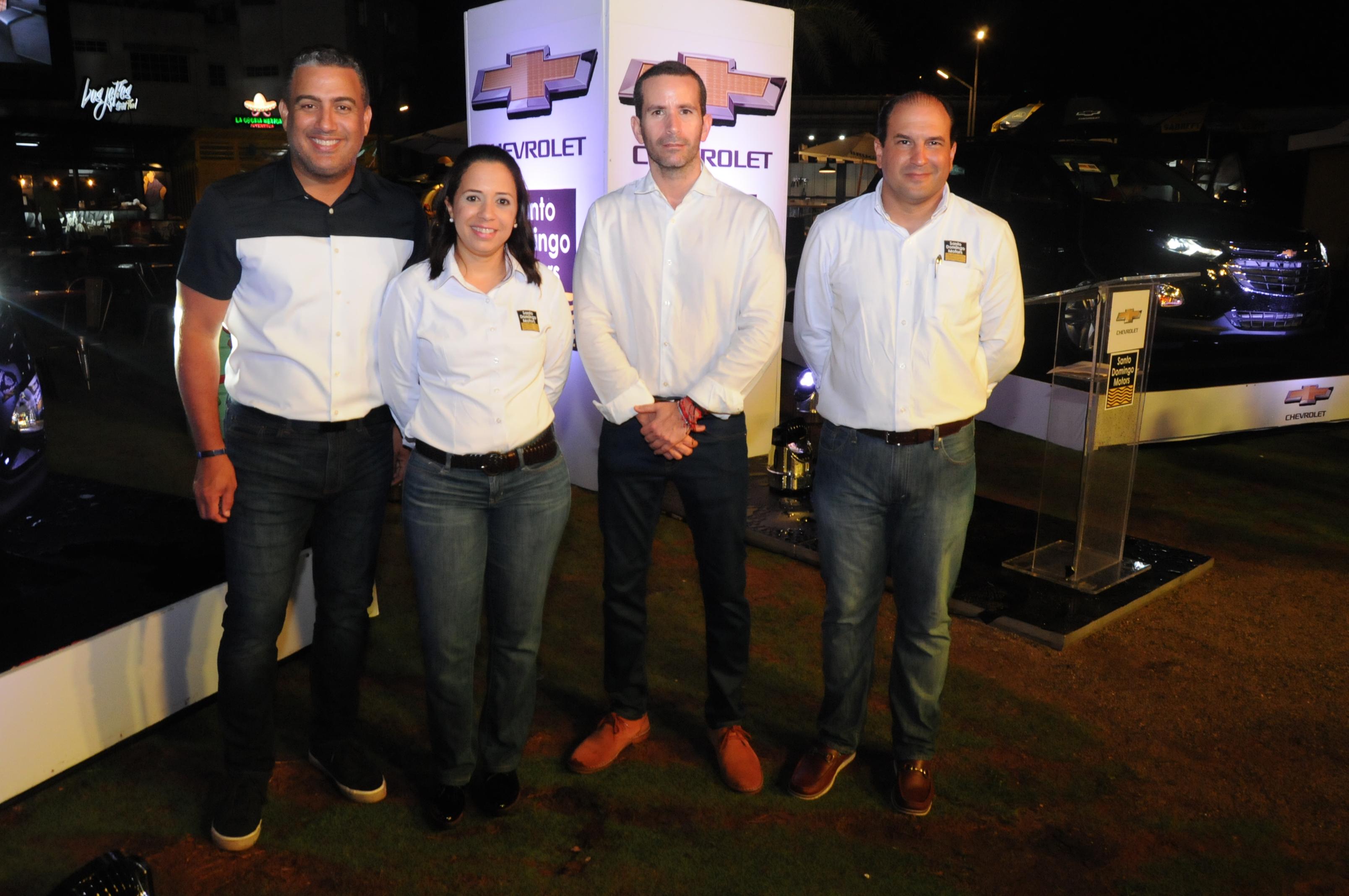 Francisco Vásquez, Lourdes Blanco, Ricardo Torres y Juan Sierra