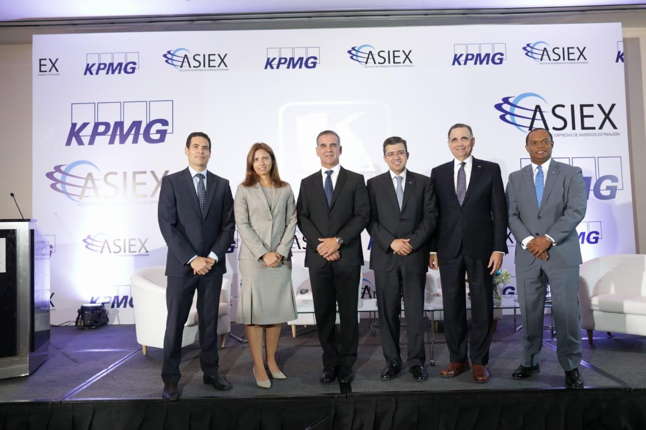 PANEL ASIEX - KPMG - FRANCISCO GONZALEZ, ANA FIGUEIREDO, JUAN VELAZQUEZ, VICTOR ESQUIVEL, MAXIMO VIDAL Y MARIO TORRES