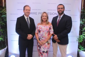 Dr- Julio Alvarez, Dra. Magda Alvarez y Lic. Ramon Lopez