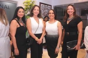 Dra. Indhira Risk, Dra. Isabel Ruiz, Dra. Jennifer Valdez y Dra. Milagros Ruiz