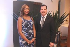 Dra. Lourdes Rodriguez y Dr. Gian Contreras