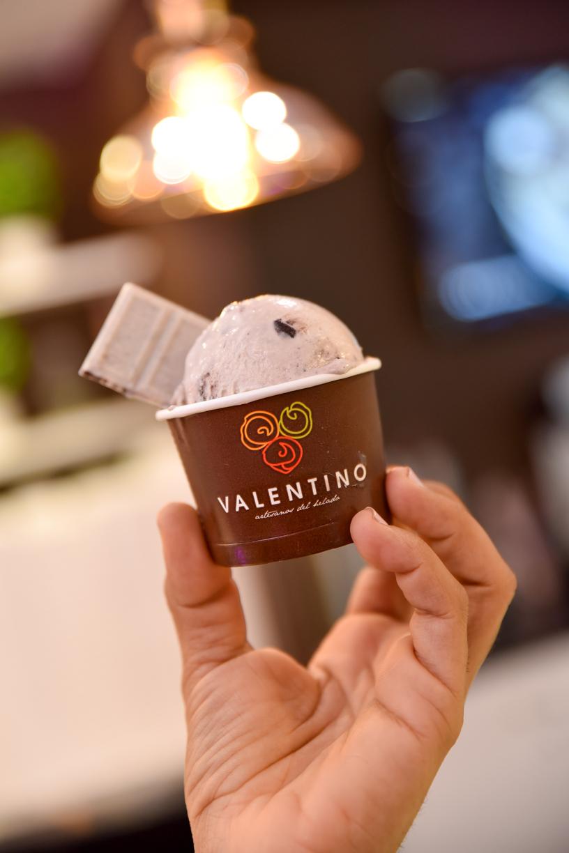 Helado Valentgino