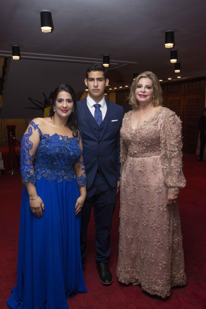 Ainoa Luna, Eduardo Guerrero y Edita Castillo.