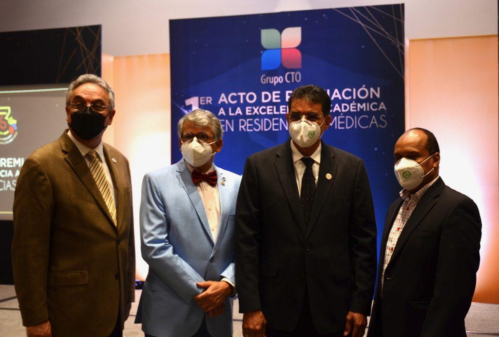 Marcos Núñez, Miguel Robiou, Danilo Ricourt y Tomás Caraballo.